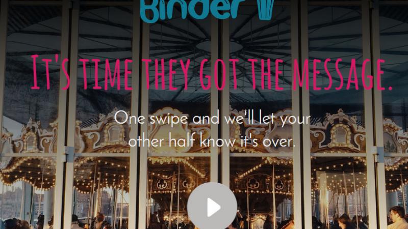 Gedumpt Worden Via De Binder App Is Echt Gruwelijk!